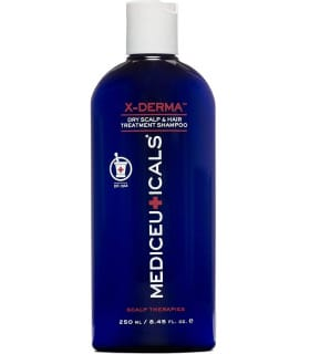 Отшелушивающий шампунь против сухости и зуда кожи головы X-Derma Mediceuticals