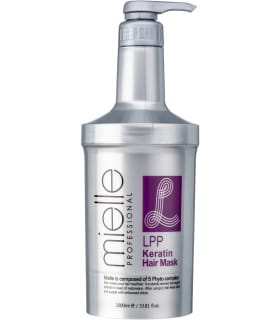 Маска для волос с кератином Mielle Professional