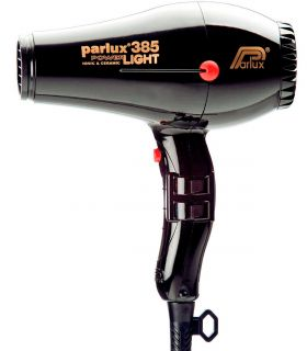 Фен Powerlight 385 black Parlux