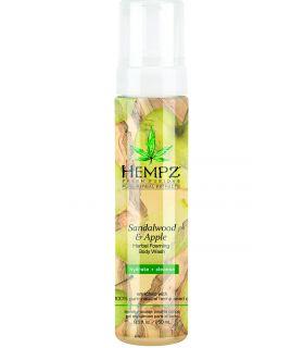 Гель-пена для душа Сандал-Яблоко Hempz Fresh Fusions Sandalwood & Apple Herbal Foaming Body Wash