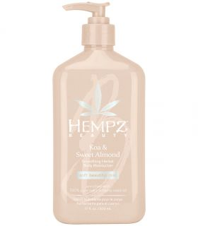 Молочко для тела Коа-Сладкий Миндаль Hempz Koa & Sweet Almond Smoothing Herbal Body Moisturizer