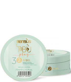 Кремообразная паста средней фиксации Sensus Tabu Rebel 32