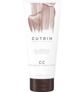 Тонирующий кондиционер Шоколад Cutrin Aurora CC Chocolate Conditioner
