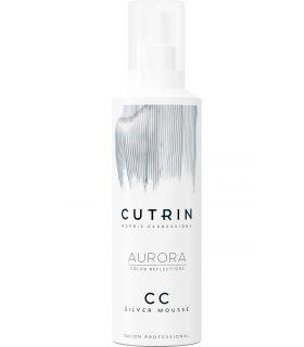 Тонирующий серебряный мусс Cutrin Aurora CC Silver Mousse