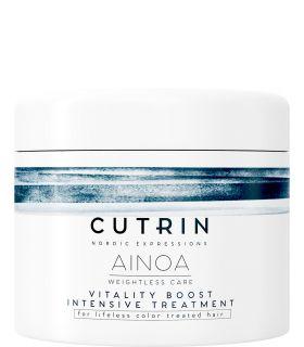 Маска для интенсивного питания волос Cutrin Ainoa Vitality Boost Intensive Treatment