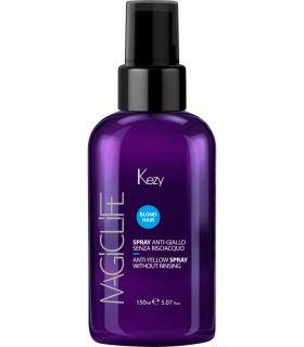 Двухфазный спрей против желтизны Kezy Magic Life Blond Hair Anti-Yellow Spray