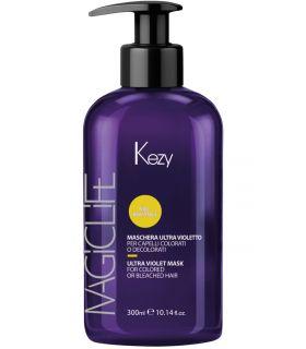 Тонирующая маска для волос Ультрафиолет Kezy Magic Life Blond Hair Ultra Violet Mask