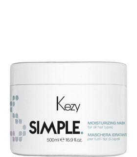 Увлажняющая маска для волос Kezy Simple Moisturizing Mask