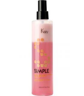 Восстанавливающий спрей-кондиционер Kezy Simple Restoring and Conditioning Two-phase Spray