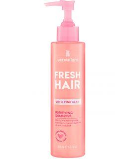 Мягкий очищающий шампунь с розовой глиной Lee Stafford Fresh Hair Purifying Shampoo
