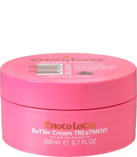 Маска для придания гладкости волосам с экстрактом какао Lee Stafford Choco Locks Butter Cream Treatment
