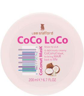 Увлажняющая маска с кокосовым маслом Lee Stafford Coco Loco Coconut Mask