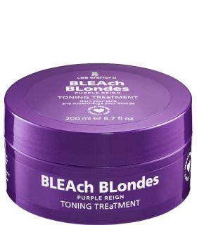 Тонирующая маска для нейтрализации желтых оттенков Lee Stafford Bleach Blondes Purple Reign Toning Treatment