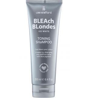 Шампунь от желтизны осветленных волос Lee Stafford Bleach Blondes Ice White Toning Shampoo