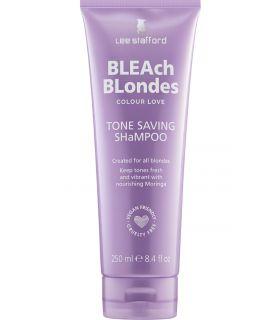 Шампунь для светлых волос для ежедневного использования Lee Stafford Bleach Blondes Tone Saving Shampoo