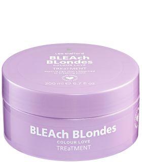 Маска для окрашенных волос Lee Stafford Bleach Blondes Colour Treatment