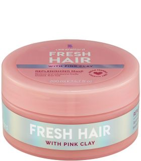 Восстанавливающая маска с розовой глиной Lee Stafford Fresh Hair Replenishing Mask