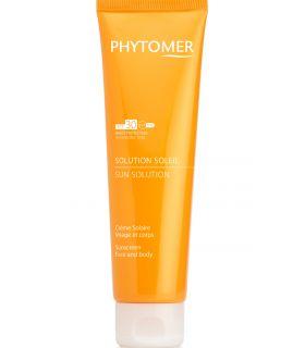 Солнцезащитный укрепляющий крем для лица и тела SPF30 Phytomer Sun Solution Sunscreen Face and Body
