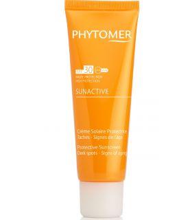 Солнцезащитный крем для лица и тела SPF30 Phytomer Sunactive Protective Sunscreen