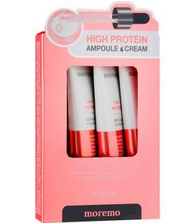 Протеиновые крем-ампулы для волос Moremo High Protein Ampoule Cream