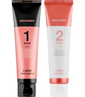 Двухэтапное средство для восстановления волос Moremo 2 Step Hair Clinic R
