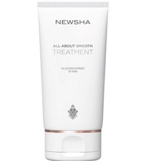Маска для увлажнения и разглаживания волос Newsha Classic All About Smooth Treatment