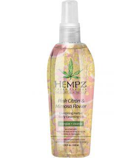 Очищающее масло для душа Розовый Лимон-Мимоза Hempz Fresh Fusions Pink Citron & Mimosa Cleansing Oil