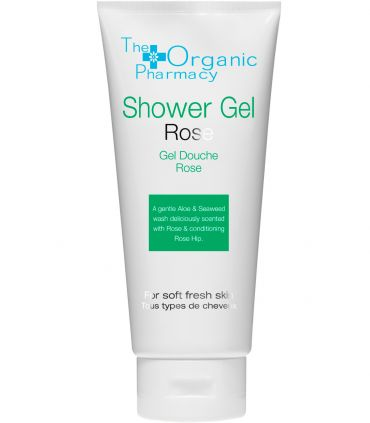 Освежающий гель для душа The Organic Pharmacy Rose Shower Gel