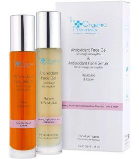 Косметический набор The Organic Pharmacy Antioxidant Face Gel & Antioxidant Face Serum Duo