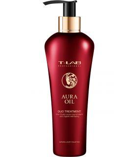 Восстанавливающий кондиционер для сухих и поврежденных волос T-LAB Professional Aura Oil Duo Treatment