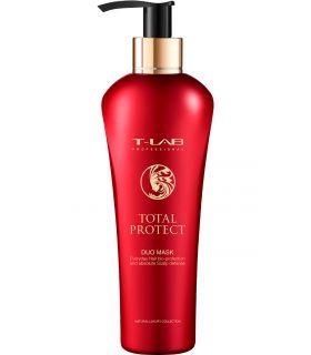 Маска для биозащиты и увлажнения волос T-LAB Professional Total Protect Duo Mask