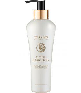 Шампунь для коррекции цвета и восстановления T-Lab Professional Blond Ambition Purple Shampoo