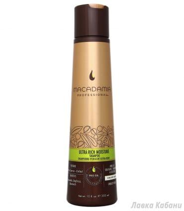 Ультра увлажняющий шампунь Macadamia Ultra Rich Moisture Shampoo
