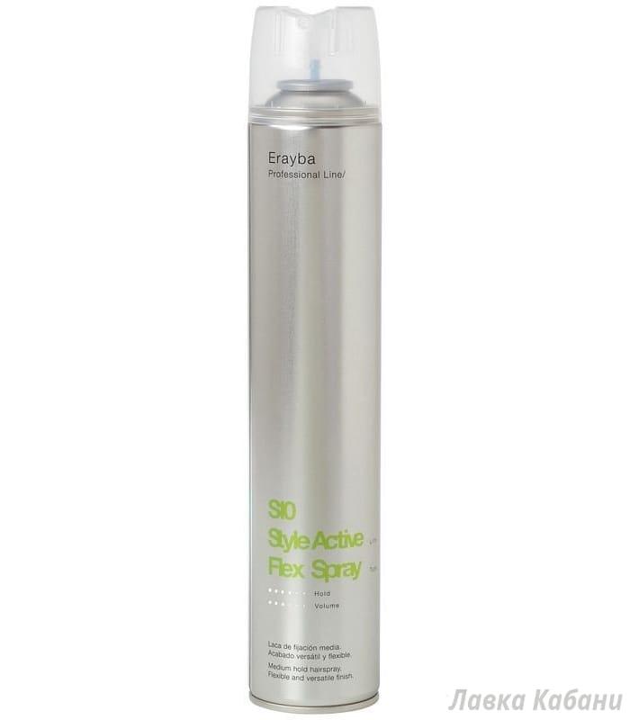 Фото Erayba S10 Flex Spray – Лак для волос средней фиксации,  500 мл