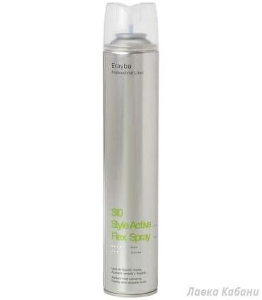 Erayba S10 Flex Spray – Лак для волос средней фиксации,  500 мл