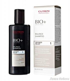 Балансирующий шампунь для сухой кожи головы Cutrin BIO+