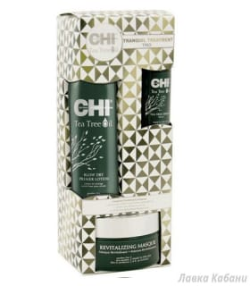 Фото Набор CHI Tea Tree Oil (маска, сыворотка и лосьон)