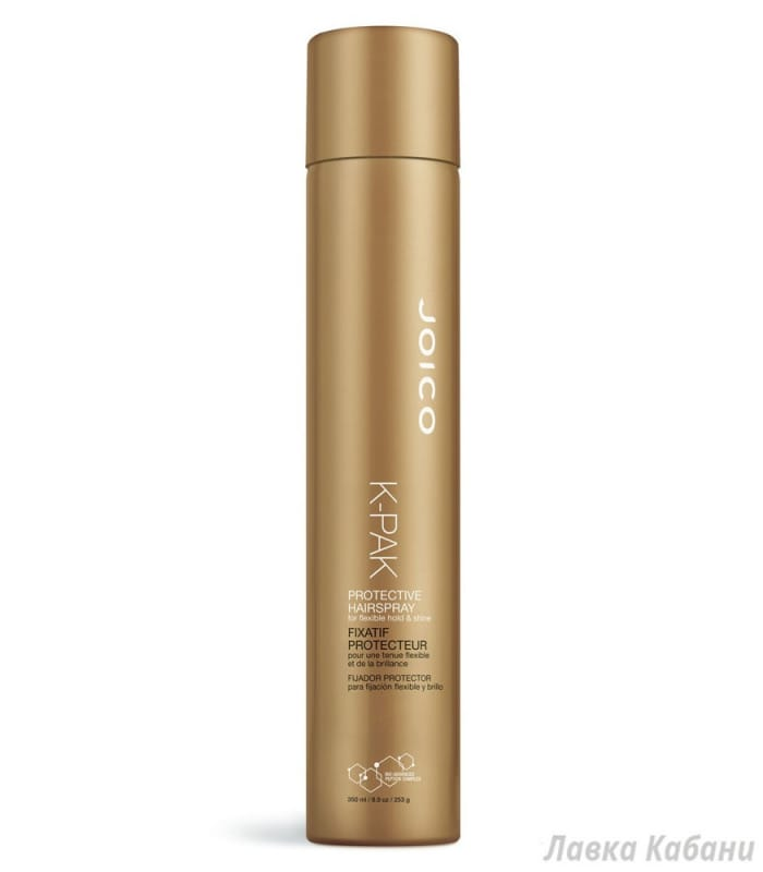Фото Спрея средней фиксации Joico K-pak Style Protective Hair Spray For Flexible Hold & Shine