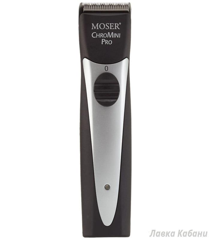 Фото Машинки для стрижки Moser 1591-0062 ChroMini Pro черная