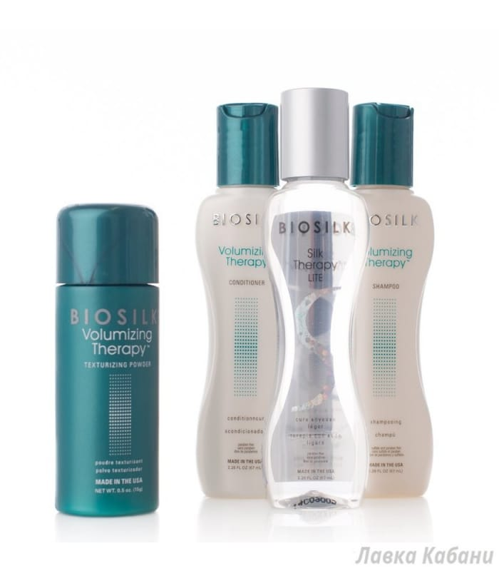 Дорожный набор Комплекс для придания объема волосам BioSilk Volumizing Therapy Travel Set