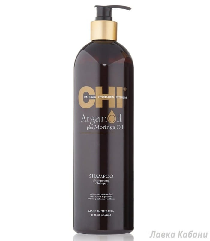 Фото Восстанавливающий шампунь CHI Argan Oil Plus Moringa Oil Shampoo