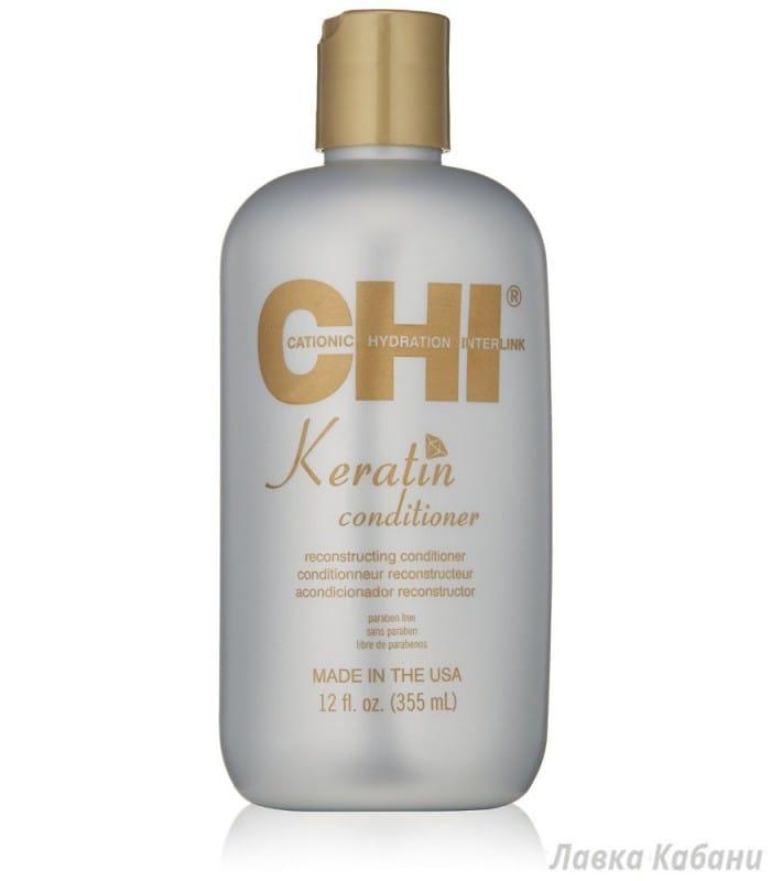 Фото Восстанавливающего кератинового кондиционера для волос CHI Keratin Conditioner