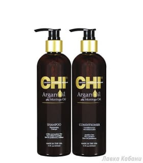 Фото набора CHI Argan Oil (шампунь и кондиционер)