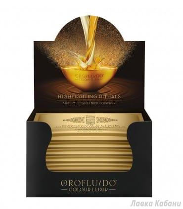 Безаммиачная осветляющая пудра Orofluido
