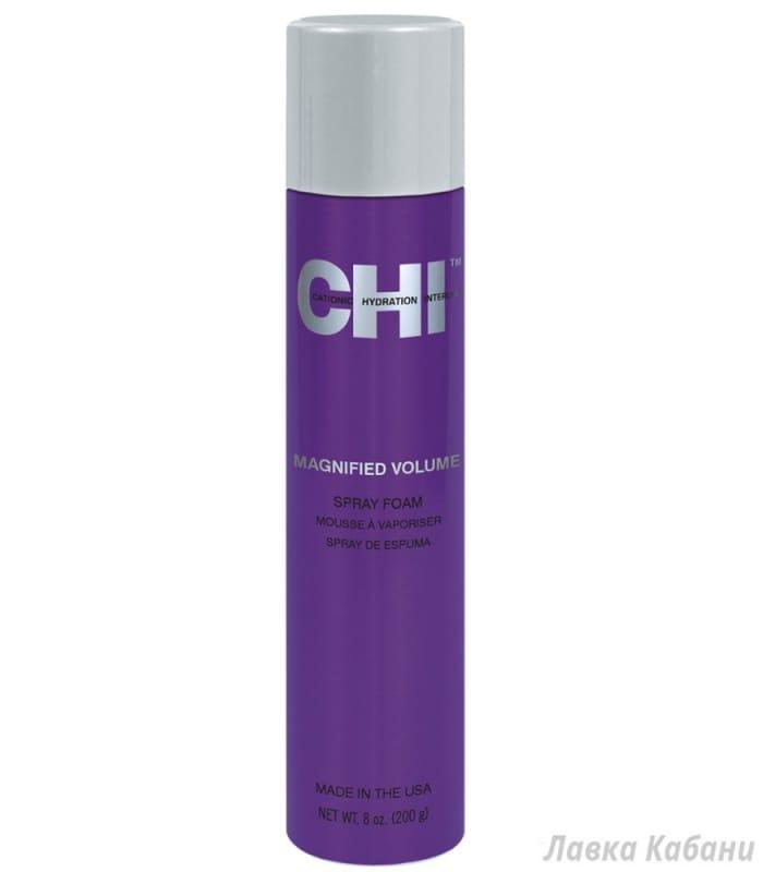 Фото Пенки-спрея для усиленного объема CHI Magnified Volume Spray Foam