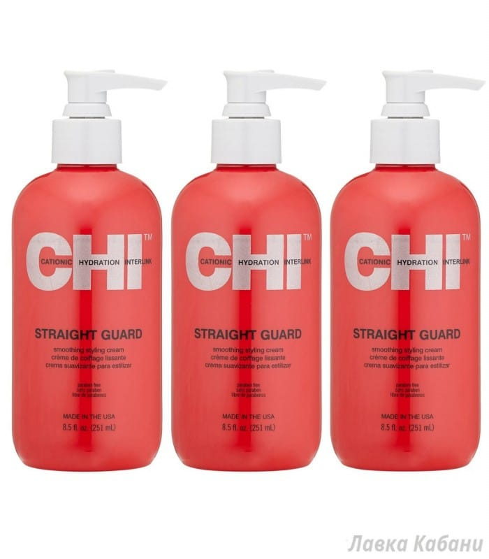 Фото 3 Крема для укладки и придания гладкости CHI Straight Guard Smoothing Styling Cream