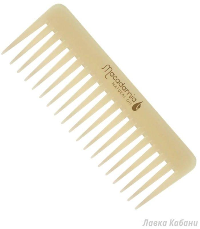 Фото 2 Гребеня для волос,пропитанный маслом арганы и макадамии Macadamia