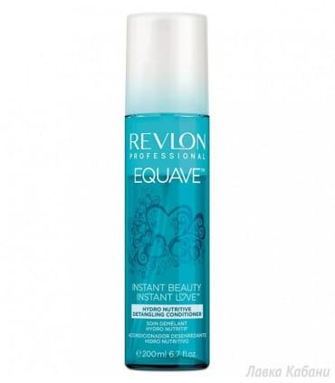 Увлажняющий и питательный кондиционер с кератином Revlon Professional Equave