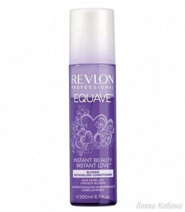Кондиционер для осветленных волос с кератином Revlon Professional Equave