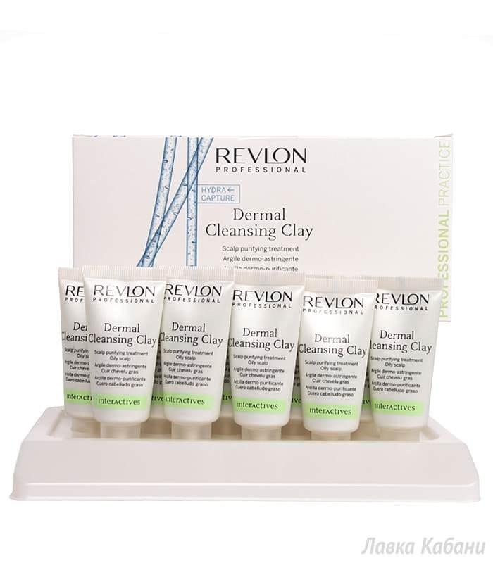 Фото Глины для кожи головы Revlon Professional Interactives Dermal Cleansing Clay